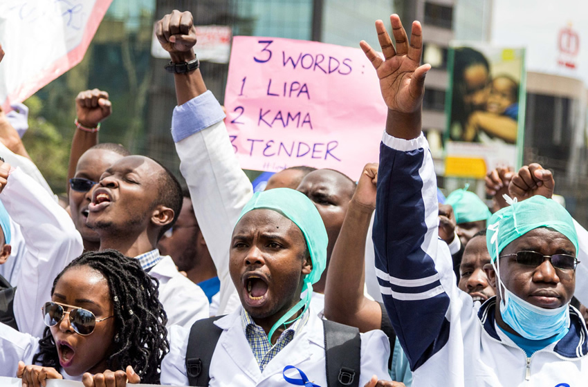 Stop insults and negotiate with striking health workers in Kenya