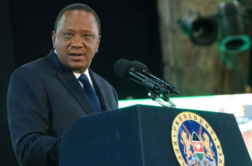 Uhuru sinning against Kenya